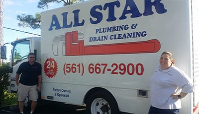 All Star Plumbing & Drain Cleaning.